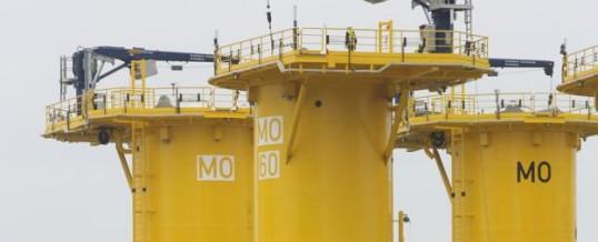 Idesa y Windar inician la fabricación en Avilés de 31 nuevas piezas de eólica marina