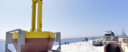 Langosteira acoge un sistema para generar electricidad a partir de las olas
