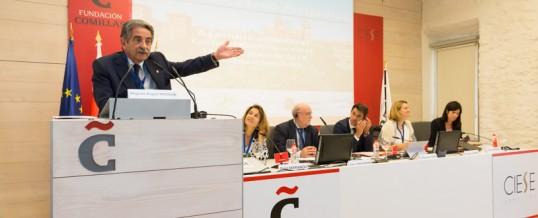 Revilla destaca la vinculación de Cantabria con el proyecto europeo y fija como reto del Arco Atlántico hacer frente al despoblamiento rural