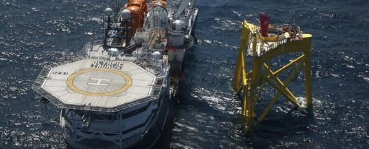 Reportaje | Iberdrola inicia la instalación de las jackets locales en las profundidades del Mar del Norte