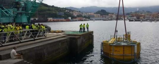 Tecnalia pone en marcha en Bermeo el primer laboratorio flotante de Europa para ensayos en un entorno real offshore