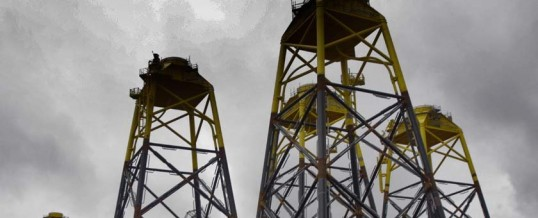 Iberdrola inaugura el parque de eólica marina Wikinger, con piezas construidas en Navantia y Windar