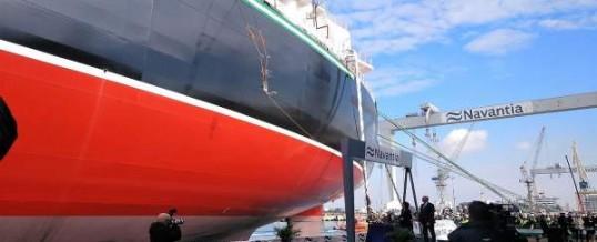 Navantia entrega al Grupo Ibaizábal el tercer petrolero Suezmax, contratado por la compañía Total