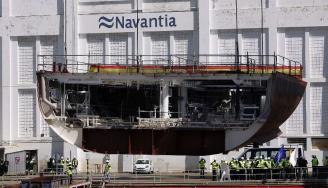 Trabajadores de Navantia urgen al Gobierno que firme la orden para construir las fragatas