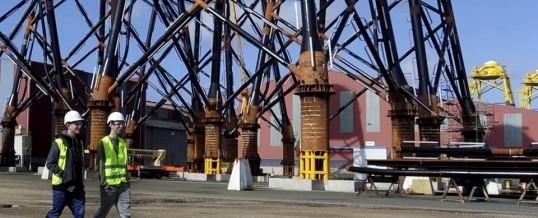Navantia anuncia un contrato de construcción de eólica marina para el Reino Unido