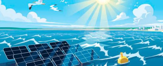 Proyecto para desarrollar plantas solares fotovoltaicas offshore