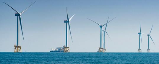"""El parque eólico marino """"más grande del mundo"""" empieza a generar energía"""