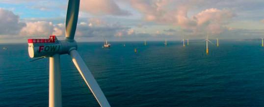 Taiwán entra en la era de la energía eólica marina