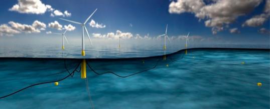 Castle Wind firma un memorando de energía eólica flotante