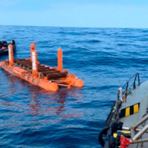 Cantabria Sea of Innovation - Arrecife aprovecha la energía de las olas con un nuevo dispositivo flotante