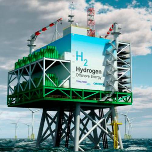 Hidrógeno a partir de la energía eólica marina