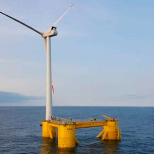 Windar Renovables avanza en la construcción de su parque eólico marino