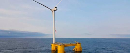 Windar Renovables avanza en la construcción del parque eólico marino Kinkardine