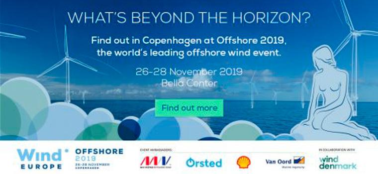 Eólica marina en Asturias - WindEurope Offshore 2019