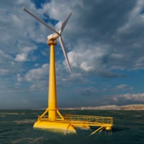 Cantabria alberga la plataforma eólica flotante más grande de España