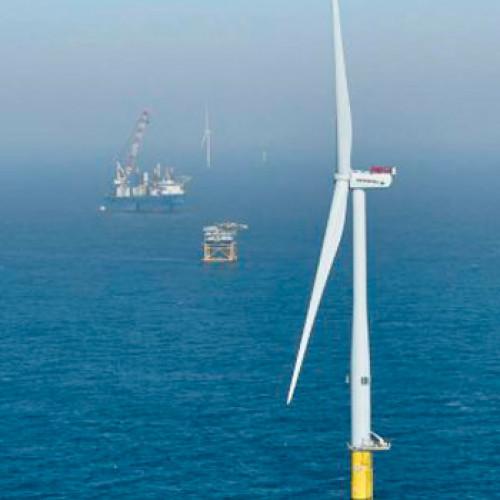 La producción de hidrógeno con la energía eólica marina