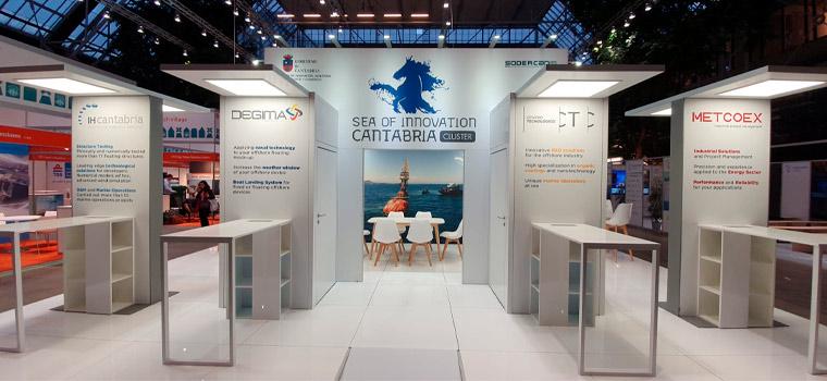 La participación del Clúster en la feria WindEurope Offshore 2019