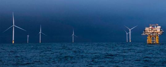 La aceleración del crecimiento de la eólica mundial en alta mar