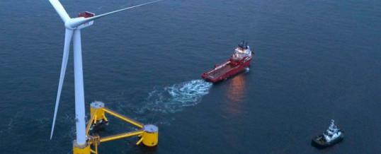 El primer proyecto de eólica flotante de 2020 ya está operando