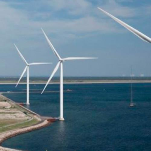 La energía eólica marina utilizada para la producción de hidrógeno renovable