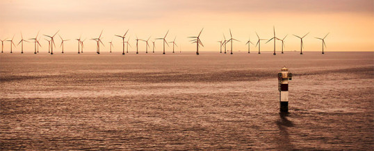 La eólica marina flotante no causará impacto paisajístico