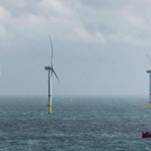 La potente eólica marina europea