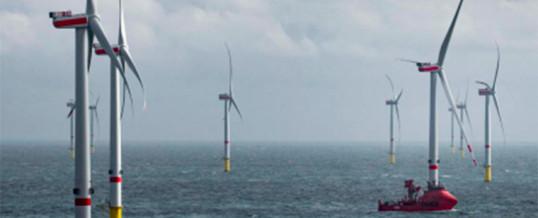 Eólica marina europea: cada vez más grande, cada vez más lejos, en aguas cada vez más profundas