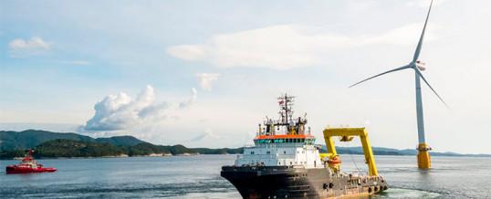 La energía eólica marina y el sector naval puede reforzarse mutuamente