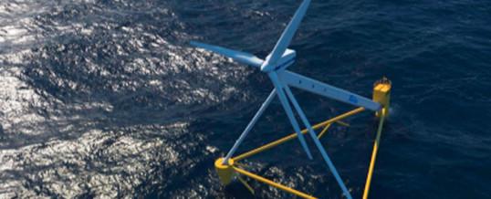 PivotBuoy, nueva plataforma eólica flotante que ve la luz en Santander