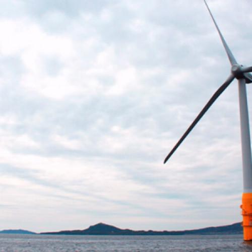 Concurso de tecnologia para viento flotante en Escocia