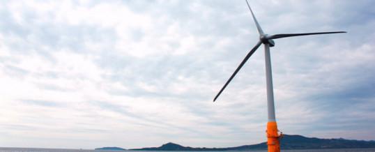 Ocho ganadores del concurso de viento flotante financiado por el Gobierno de Escocia