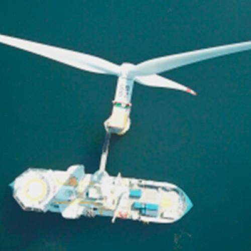 La eólica marina emergente