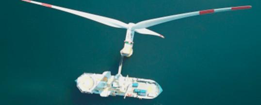 La eólica marina genera 2,5 puestos de trabajo por megavatio instalado