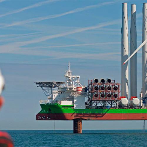 Iberdrola mantiene su inversión en eólica marina