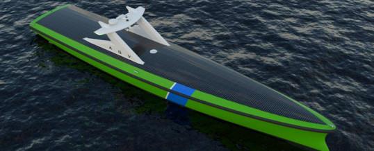 Desarrollarán un nuevo buque autónomo para vigilar parques eólicos marinos