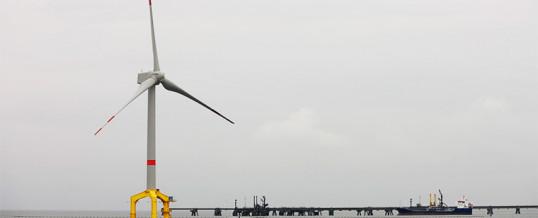 GE, Siemens Gamesa y Vestas, el trío que liderará la eólica marina