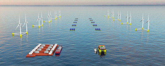 Proyecto OceanH2: desarrollo de plantas marítimas de hidrógeno