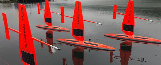 Drones acuáticos para combatir el cambio climático