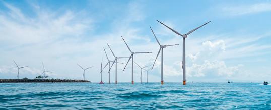 El mundo suma 1,6 GW de capacidad eólica marina en seis meses